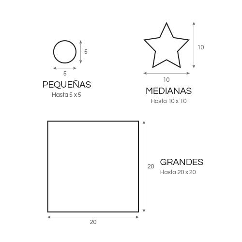 etiquetas en rollo gráfico