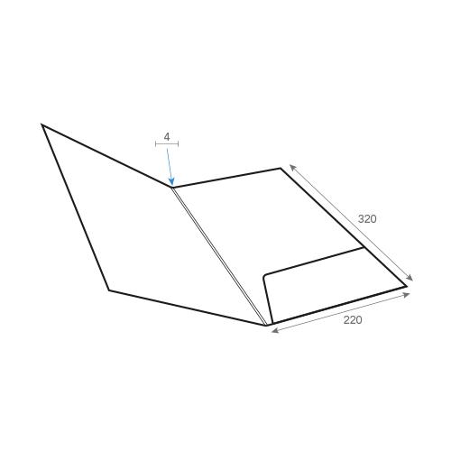 Carpeta presentación gráfica